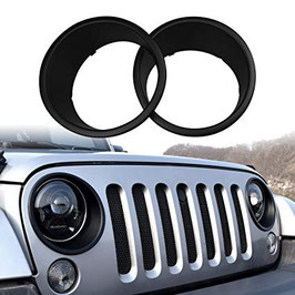 Jeep Headlight Trim Cover