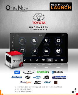 Toyota Hilux/Fortuner D4D OneNav Radio 2008 - 2011