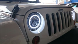 LED Head Light with Halo