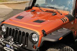 Jeep Wrangler Performance Vented Bonnet