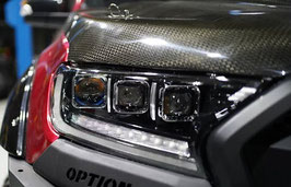 Ford Ranger Triple LED Projector Headlights