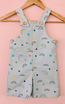Rainbows Overall (SIZE 2 ONLY)