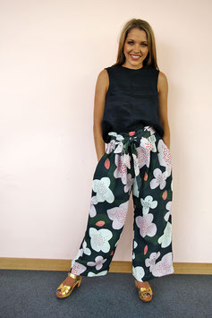 Trees for Bees Linen Pant