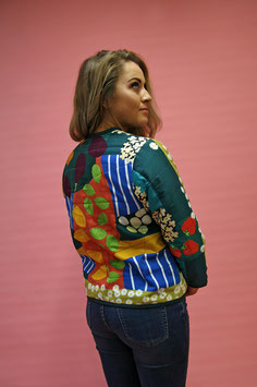 Up the garden path Quilted Jacket