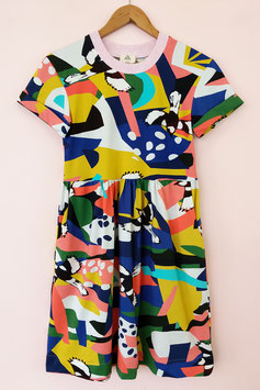 Swoop Jersey Smock Dress