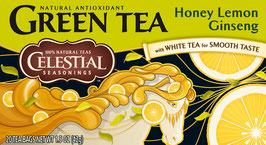 Green Tea Honey Lemon Ginseng