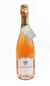 Champagner Norbert Deux-Cœurs Rosé Brut