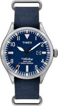 TIMEX The Waterbury blau