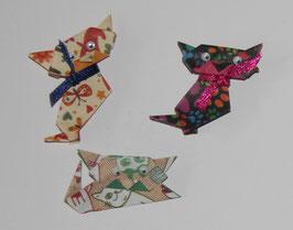 Beu 1  Origami- Kätzchen