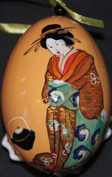 "JM 42 JAPANISCHE MALEREI ""GEISHA"""