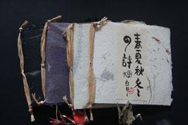 """BÜCHER 3 GEDICHTBAND """"SHUNKASHUTÔ SHÔ - DIE VIER JAHRESZEITEN/ SOMMER/ KURZGEDICHTE"""""""
