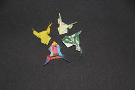 "SO Origami- Faltarbeit ""Minifrösche"""