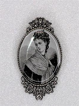 Brosche Lady Zadie viktorianisches Motiv
