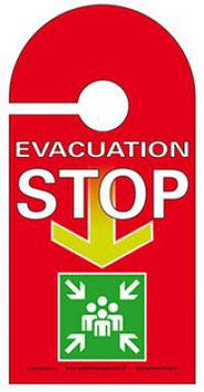 Türanhänger Evakuation