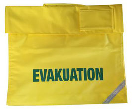 Tasche Evakuation