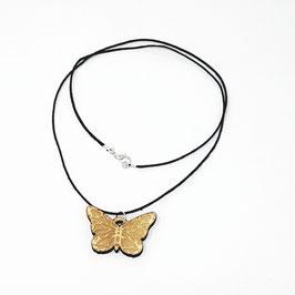 Holz Kette Schmetterling Schmuck