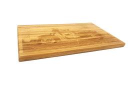 Schneidebrett Holzbrett Bambus inkl. Wunsch Gravur