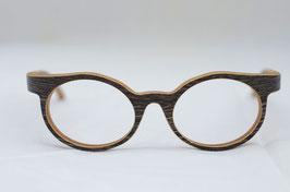 Holzbrille Rivoly in Wenge dunkel