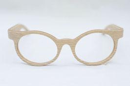 Holzbrille Rivoly in Eiche oak hell