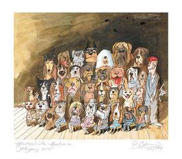 Hundeschule-Absolventen, Jahrgang 2017