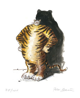Ohne Titel (Tiger)