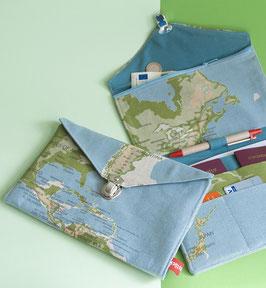 Reiseorganizer Weltkarte