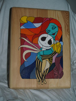 Caja Jack y Sally grande