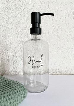 Seifenspender Glas