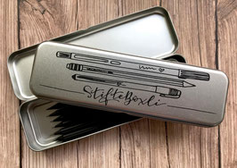 Stiftebox aus Metall