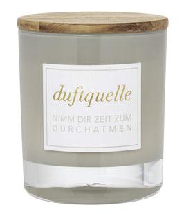 """Duftkerze im Glas """"ZEIT"""" Duft White ginger lily"""