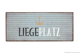 """Schild """"Liegeplatz"""""""