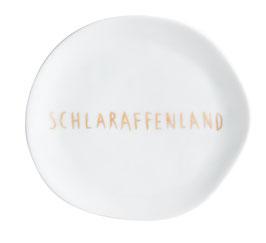 """Mix&Match Teller klein """"Schlaraffenland"""""""