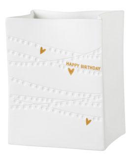 """Porzellanlichttüte """"Happy Birthday"""""""