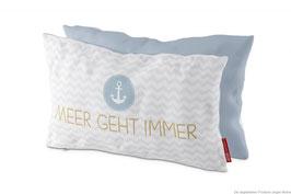 """Kissen für dich 25x40cm """"Meer geht immer"""""""