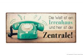 """Schild """"Irrenhaus"""""""
