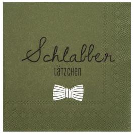 """Serviette """"Schlabber Lätzchen"""""""