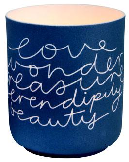 """Poesielicht """"Love, Wonder..."""""""