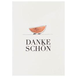 "Karte ""Dankeschön"""