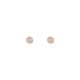Ohrringe Kristall & Edelstahl
