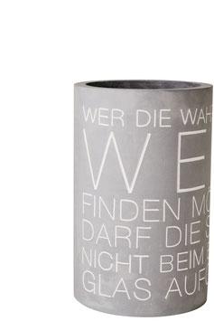 """Flaschenkühler """"Wahrheit"""""""