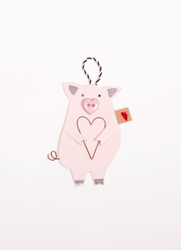 Glücksschweinchen versch. Ausführungen