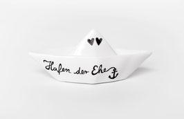 """Traumboot groß """"Hafen der Ehe"""""""