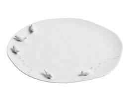 """Porzellangeschichten Teller """"Vogelschwarm"""""""