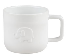 KIDS Porzellan-Service Tasse Elefant