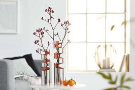 """Vase """"Loom"""" Edelstahl"""