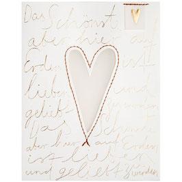 """Eine Tüte... """"Liebe"""" 10x13x7cm"""
