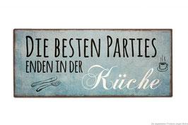 """Schild """"Küchenparties"""""""