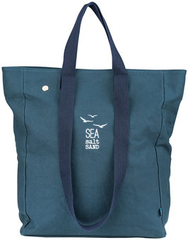 "Strandtasche ""Sea, Salt, Sand"", navy"