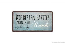 """Magnet 10x5cm """"Küchenparties"""""""
