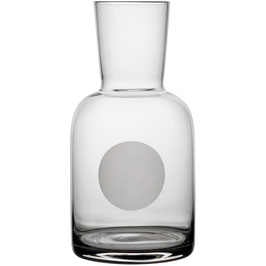 "Karaffe inkl. Glas ""Trinkgemeinschaft"" 0,5l"